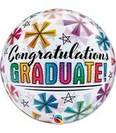 "22"" Congratulations Graduate and Stars"