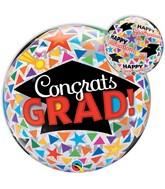"""22"""" Congrats Grad Caps and Triangles"""