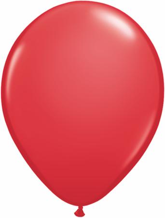 "9""  Qualatex Latex Balloons  RED            100CT"