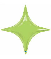 "40"" Starpoint Lime Green Décor Balloon"