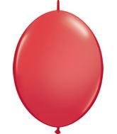 "12"" Qualatex Latex Quicklink Red 50 Count"