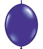 """12"""" Qualatex Latex Quicklink Quartz Purple 50 Count"""