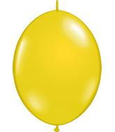 "12"" Qualatex Latex Quicklink Citron Yellow 50 Count"