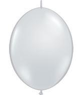 "12"" Qualatex Latex Quicklink Diamond Clear 50 Count"