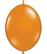 """12"""" Qualatex Latex Quicklink Mandarin Orange 50 Count"""