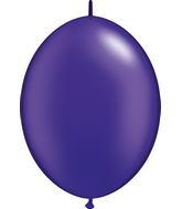 """12"""" Qualatex Latex Quicklink Pearl Quartz Purple 50 Count"""