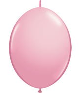 "06"" Qualatex Latex Quicklink Pink 50 Count"