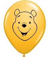 "5"" Winnie the Pooh Face Goldenrod 100 per bag"