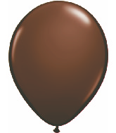 "16""  Qualatex Latex Balloons  CHOCOLATE BROWN   50CT"