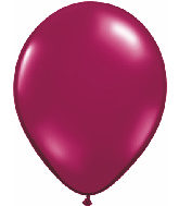 "5""  Qualatex Latex Balloons  SPARKLING BURGUNDY   100CT"