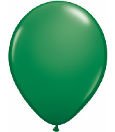 "5""  Qualatex Latex Balloons  GREEN          100CT"