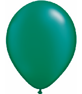 "5""  Qualatex Latex Balloons  Pearl EMERALD    100CT"