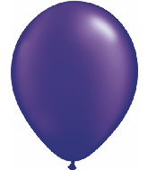 "5""  Qualatex Latex Balloons  Pearl QUARTZ PURPLE  100CT"