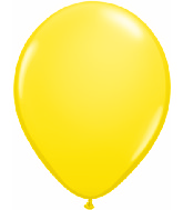 "5""  Qualatex Latex Balloons  YELLOW         100CT"