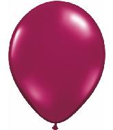 "9""  Qualatex Latex Balloons  SPARKLING BURGUNDY   100CT"