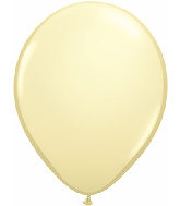 "9""  Qualatex Latex Balloons  IVORY SILK     100CT"
