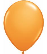 "9""  Qualatex Latex Balloons  ORANGE         100CT"
