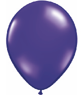 "9""  Qualatex Latex Balloons  QUARTZ PURPLE  100CT"