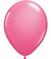 "9""  Qualatex Latex Balloons Fashion ROSE 100CT"