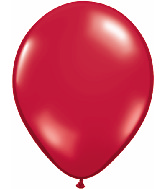 """9""""  Qualatex Latex Balloons  RUBY RED       100CT"""