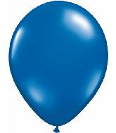 "9""  Qualatex Latex Balloons  SAPPHIRE BLUE  100CT"
