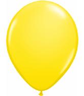 "9""  Qualatex Latex Balloons  YELLOW         100CT"