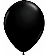 "11""  Qualatex Latex Balloons  ONYX BLACK     100CT"