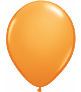"11""  Qualatex Latex Balloons  ORANGE         100CT"