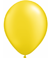 "11""  Qualatex Latex Balloons  Pearl CITRINE    100CT"
