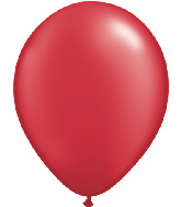 "11""  Qualatex Latex Balloons  Pearl RUBY RED   100CT"