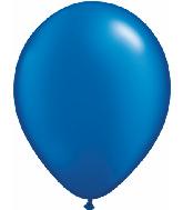 "11"" Qualatex Latex Balloons 25 Per Bag Pearl Sapphire"