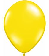 "16""  Qualatex Latex Balloons  CITRON YELLOW     50CT"