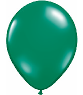 "16""  Qualatex Latex Balloons  EMERALD GREEN   50CT"