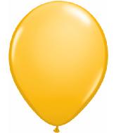 "16""  Qualatex Latex Balloons  GOLDENROD       50CT"