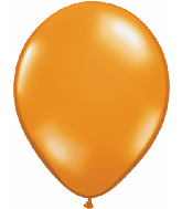 "16""  Qualatex Latex Balloons  MANDARIN ORANGE     50CT"