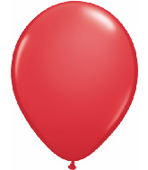 "16""  Qualatex Latex Balloons  RED             50CT"