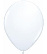 "16""  Qualatex Latex Balloons  WHITE           50CT"