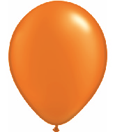 "11""  Qualatex Latex Balloons  Pearl MANDARIN   100CT"