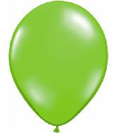 "11"" Qualatex Latex Balloons 25 Per Bag Jewel Lime"