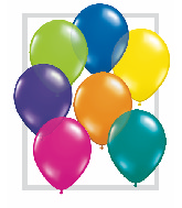 "11""  Qualatex Latex Balloons  FANTASY ASSORT    100CT"