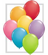 "16""  Qualatex Latex Balloons  FESTIVE ASSORT     50CT"