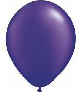 "16""  Qualatex Latex Balloons  Pearl QUARTZ PURPLE   50CT"