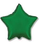 "32"" Jumbo Metallic Green Star"