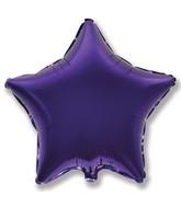 """32"""" Jumbo Metallic Purple Star"""