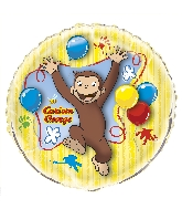 """34"""" Curious George Giant Shaped Foil Balloon"""