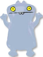 "28"" Ugly Dolls Babo Jumbo Mylar Balloon"