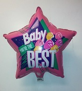 """18"""" Baby You're The Best Mylar Balloon (Slightly Damaged)"""