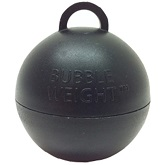 35 gram Bubble Weight: Black