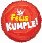 "18"" Felis Kumple Corona Balloon"