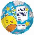 """9"""" Airfill Only Pollito Fue Niño Ho. Graf"""